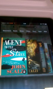Pretty Screen of my Kindle Fire - Pre-purchased Books ready for downloading