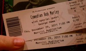 Tix for Comedy Show