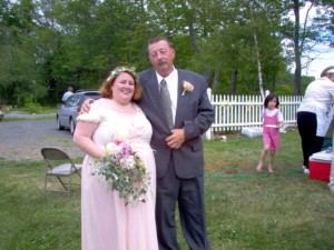 Me and Dad at my wedding