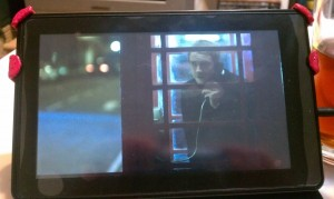 Watching Sherlock on Kindle Fire