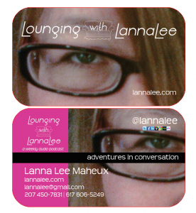 Lounging with LannaLee Card