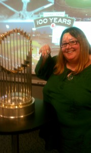 Hey, it's me and the 2004 World Series thingy and a couple of world series rings