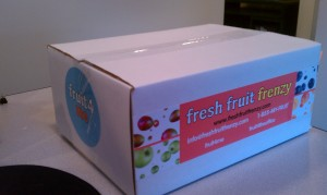 Fresh Fruit in a box