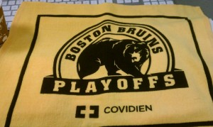 Bruins Towel