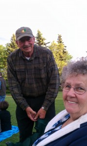 Dad and Mom, Westbrook Together Days 2011