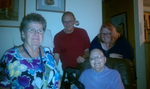 Mom, Tom, Dot and Me