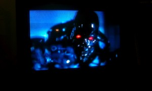 The Terminator on my TV!