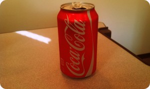 This was my last Coke for 30 Days