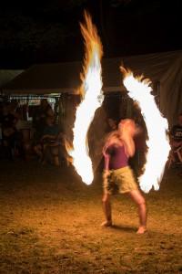 Sheila Radziewicz Spinning Fire