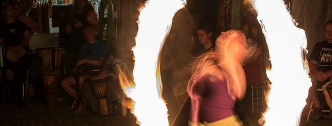 Sheila Radziewicz: Spinning Fire and Tae Kwon Do Inspiration