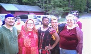 Giariel, Me, Sethlan, Orion & Bernie