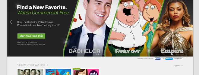 Nope. Hulu's Not For Me.
