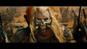 Immortan Joe's mask is better than the mask I wore last night.